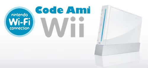 Wii Code Ami 224838789303